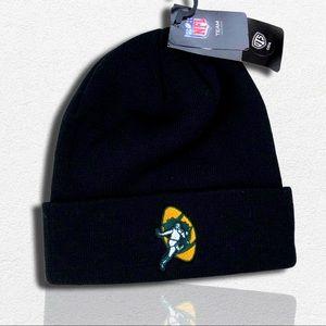 Green Bay Packers NFL Cuffed Knit Winter Beanie